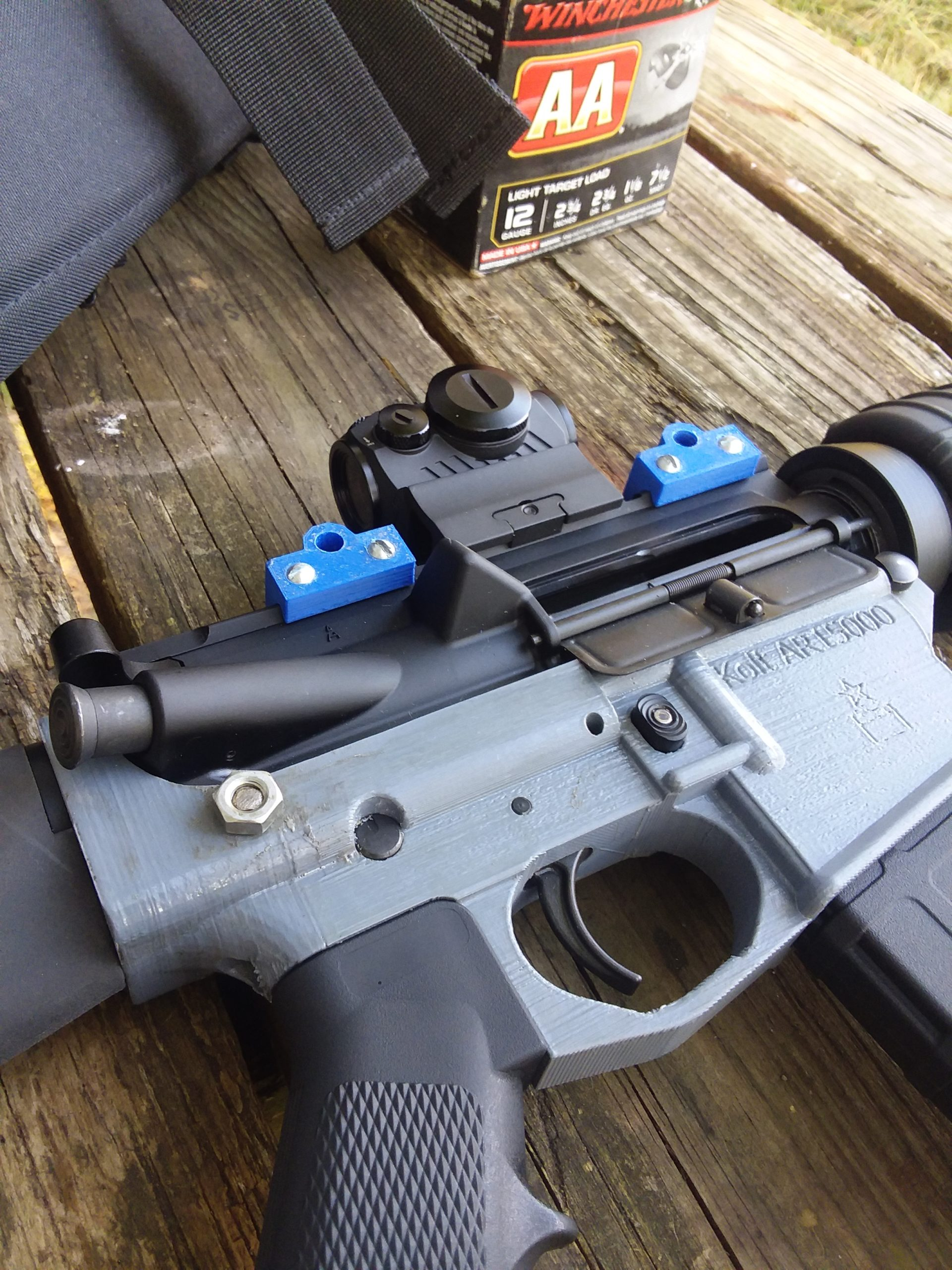 File Drop: AR15000 – 3D Printable AR15 Lower Receiver by IvanTheTroll