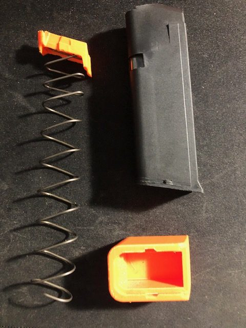 File Drop: +2 Baseplate Extension for Menendez or Factory Glock 9mm Magazine