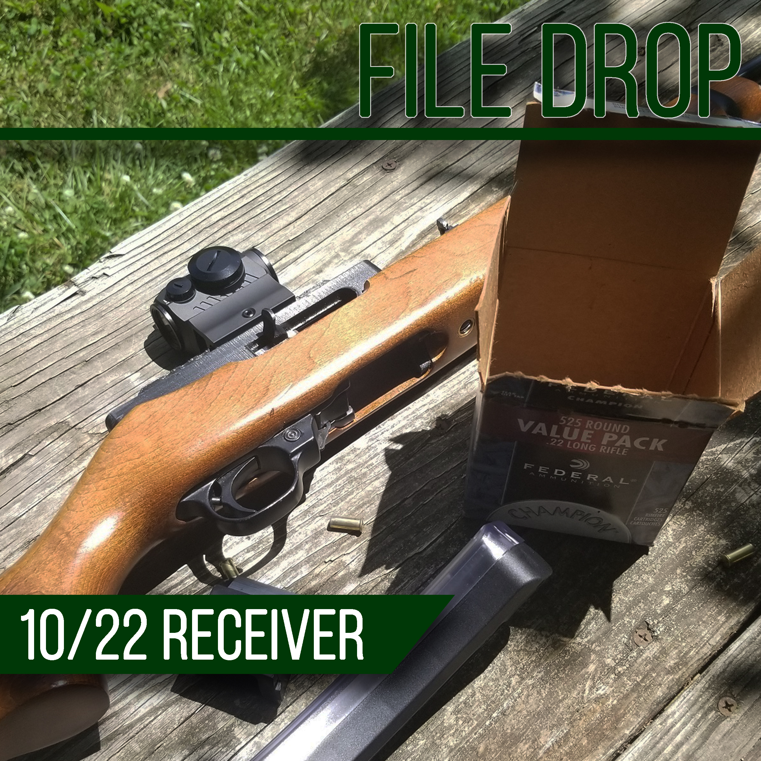 File Drop: 10/22 Printable Receiver