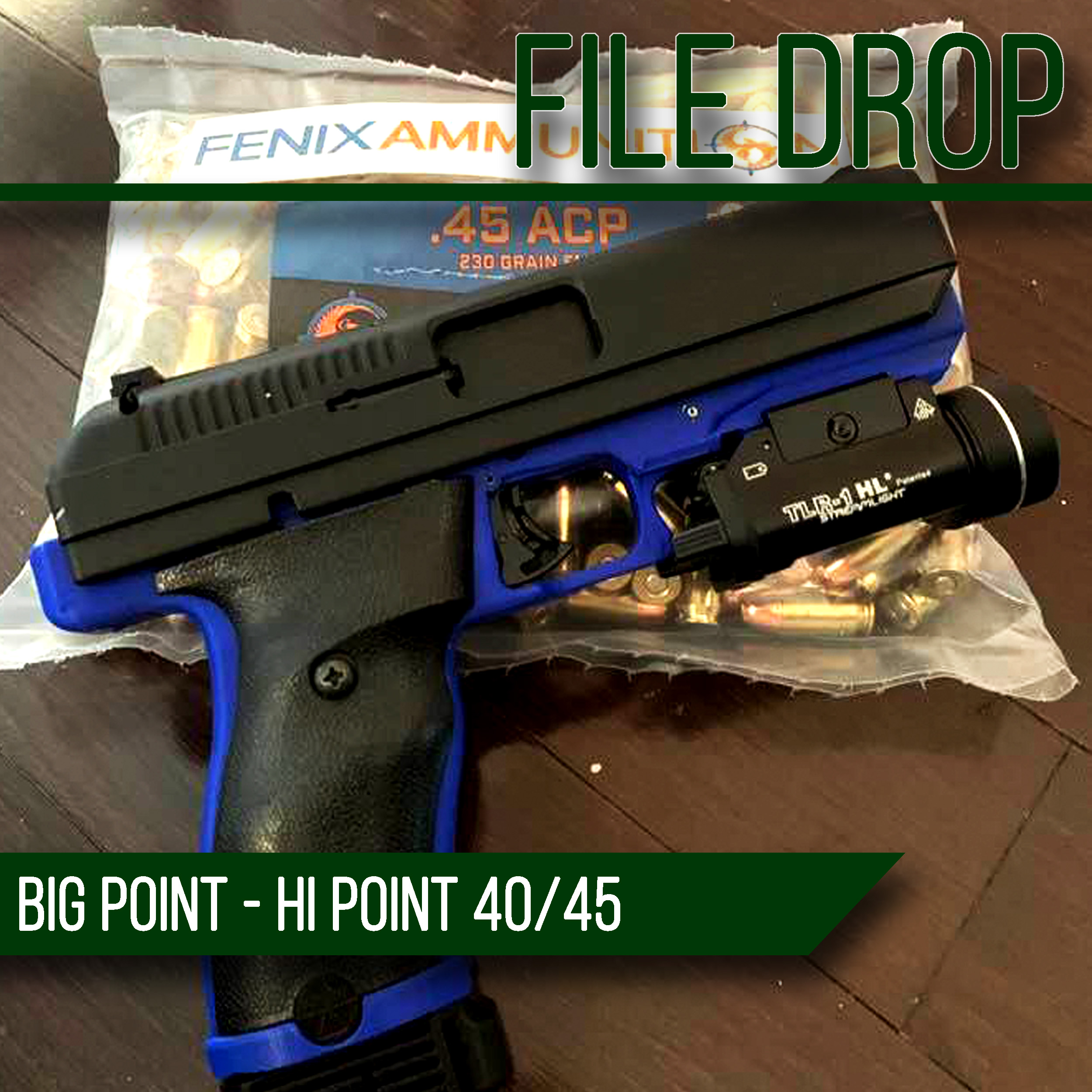 File Drop: The Big Point – 3D Printable Hipoint 40/45