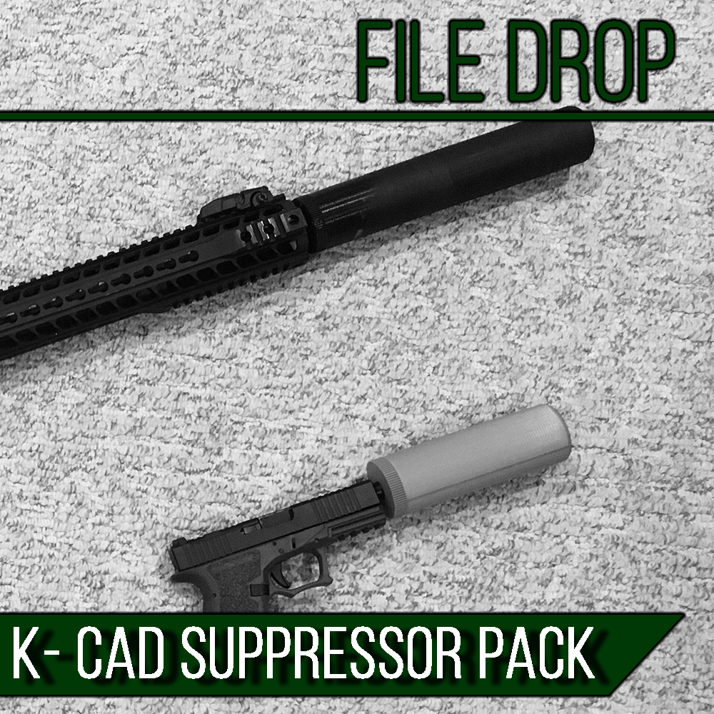 K-CAD Suppressor Pack