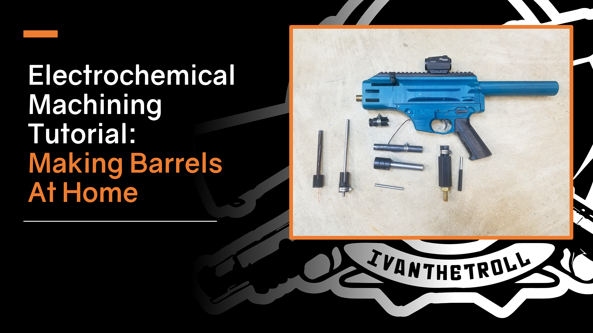 Do-It-Yourself Electrochemical Machining v2.0 Barrelmaking Package