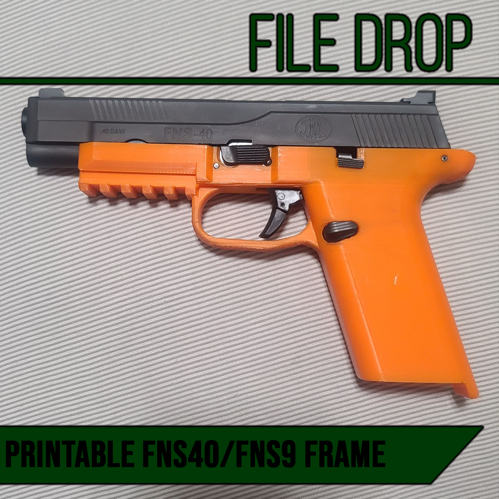 File Drop: TMS 94 'Effeeness' 3D Printable FNS40/FNS9 Frame
